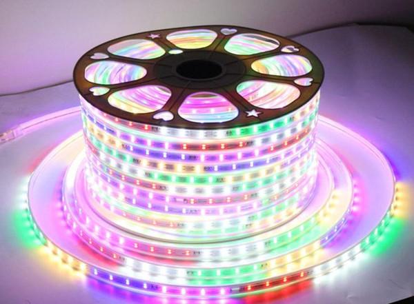LED-Lampe für Pferderennen mit bunten Neonlichtern, vierfarbig, fließendes Wasser, blinkende Außenschilder, wasserdichter, hochheller Lampengürtel