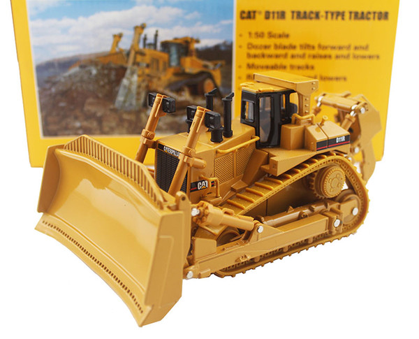 Norscot 1:50 CATERPILLAR CAT D11R Bulldozer Engineering Machinery Diecast Toy Model 85025 For Collection,Decoration,Gift