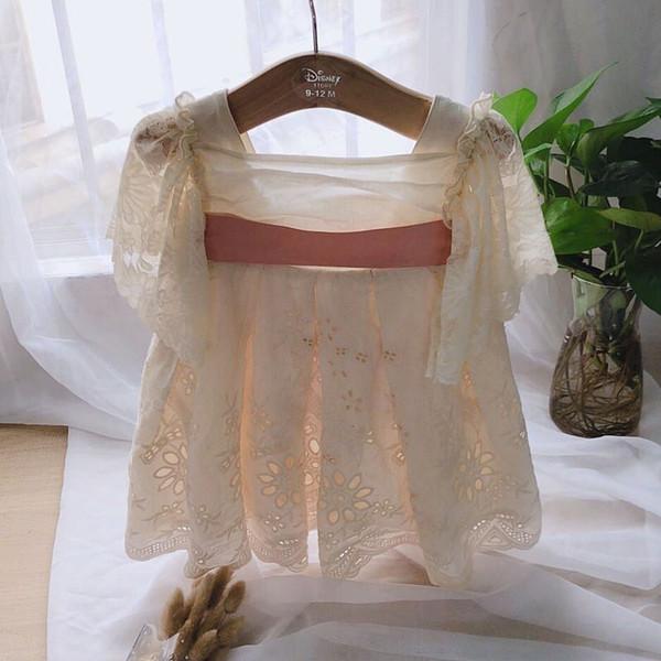 Mädchen Jahrgang Kleid Rüschen Spitze Party Kleinkind Baby Kleid für Kinder Kleider für Mädchen Kleidung Geburtstag Baumwolle Kinder Hochzeit