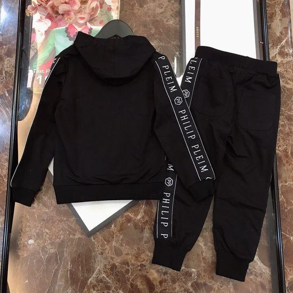 Kids Luxury Designer Clothing Boys Two Piece Pants Set Korean Children's Garment 2019 Spring Children Autumn Leisure Time In Child fenash10