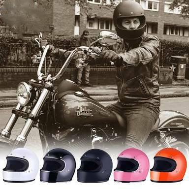 DOT genehmigt FPR Vollgesichts Motorrad Vintage Helm Fiberglas für Dirt Bike Cafe Racer Casco benutzerdefinierte Motocross Radfahren