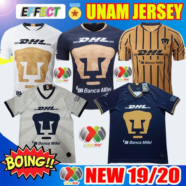 NEW ARRIVED 2019 2020 UNAM Soccer Jerseys 19/20 Club LEON Third Jersey Kit Thailand Castillo Camiseta Día de los Muertos Football Shirts