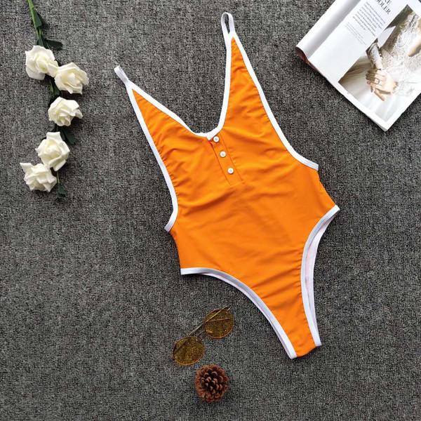 Hot Sale Swimwear for Women 2019 New Fashion Swimming Suit for Woman Sexy Bikini One Piece Swimsuit Ladies Swim Wear Bathing Suits N2019004