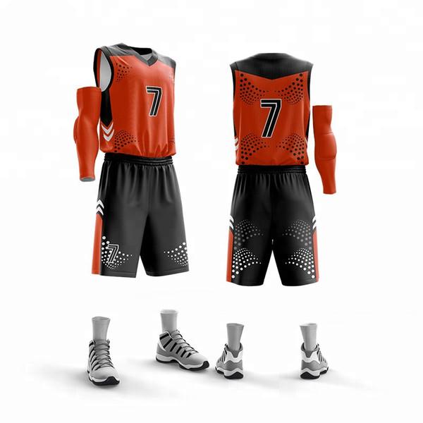 Preiswerte Basketballgroßhandelsuniform Nizza Farben-Bild entwarf Verein-Teambasketball Jersey