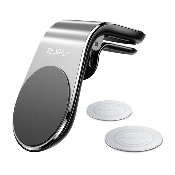 Magnetische Auto-Telefon-Halter für iPhone Samsung Xiaomi L-Typen Auto Entlüfter Gerätehalter für Telefon im Auto Starken Magneten