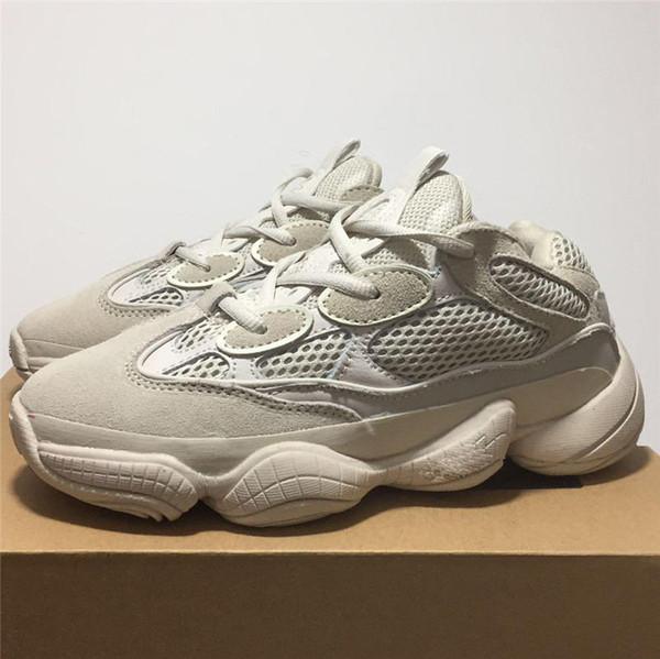 2019 venda quente Blush Deserto Kanye West 500 yung 1 Run Run Runner mens sapatos sapatos de grife Athletic Sneakers
