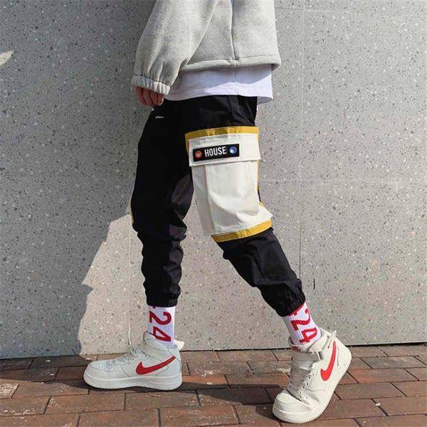 Pantalones de hip hop Streetwear Harajuku Joggers Hombres Pantalones Harem sueltos Divertidos para hombre pantalones casuales de verano para hombre pantalones de chándal fresco