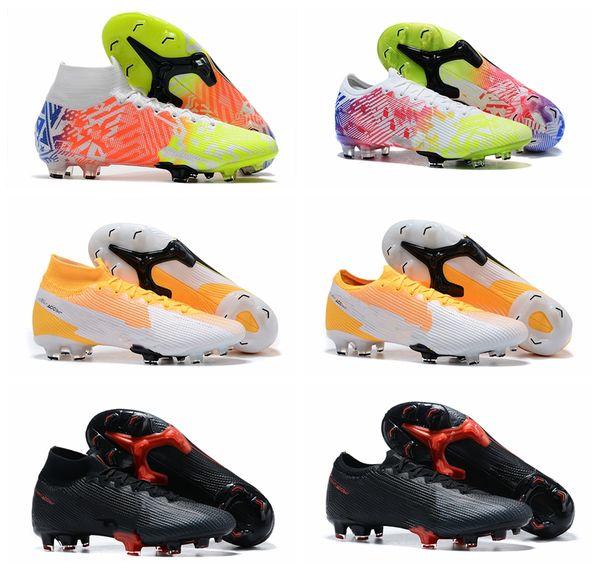 top popular 2020 new arrival soccer shoes mens soccer cleats Superfly 7 Elite SE FG CR7 football boots Mercurial Vp 13 Neymar scarpe da calcio 2020