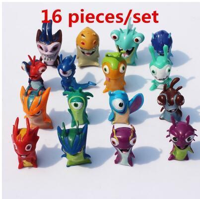 16 random pieces