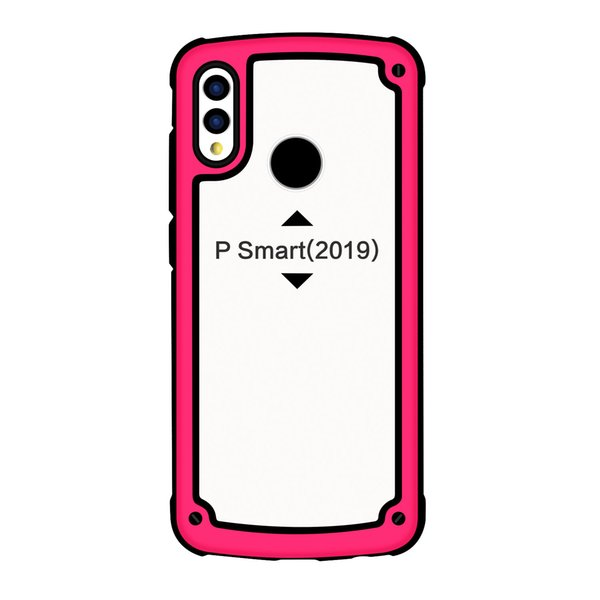 New Hot Selling 3 in 1 Clear Arcylic TPU PC Cell phone case for Huawei P30/P30 pro/New Samsung Models