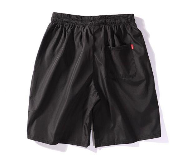 105 Высококачественные летние брюки Su preme мужские и женские пляжные брюки Champion OW черные и белые брюки брюки акула мальчик