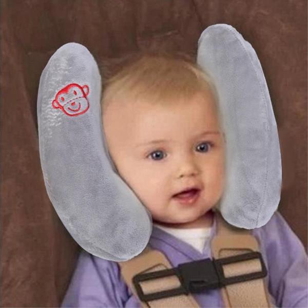 Siège de voiture de protection réglable oreiller Protecion oreiller tête bébé voyageant