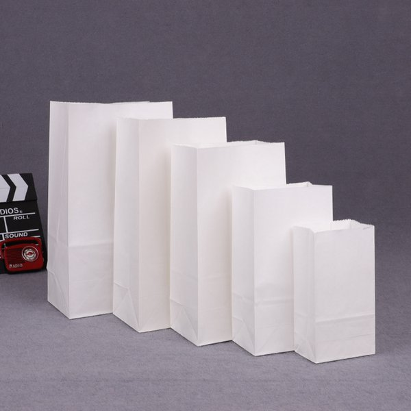 50 unids Caja de dulces de papel Kraft caja de embalaje de papel de cartón kraft pequeño Embalaje de Regalo Artesanal Regalo de Navidad Año Nuevo Fiesta