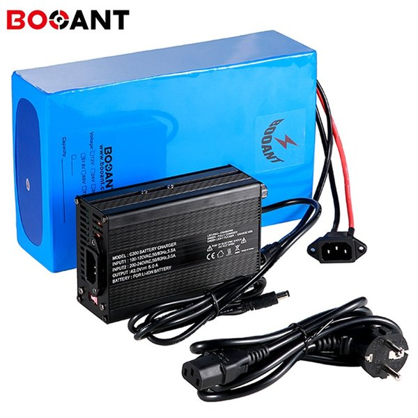 Scooter Li-ion Battery 36v 25Ah 750w High Capacity for 26650 cell with 42v 5A Charger 10S 36V electric bike Lithium battery pack