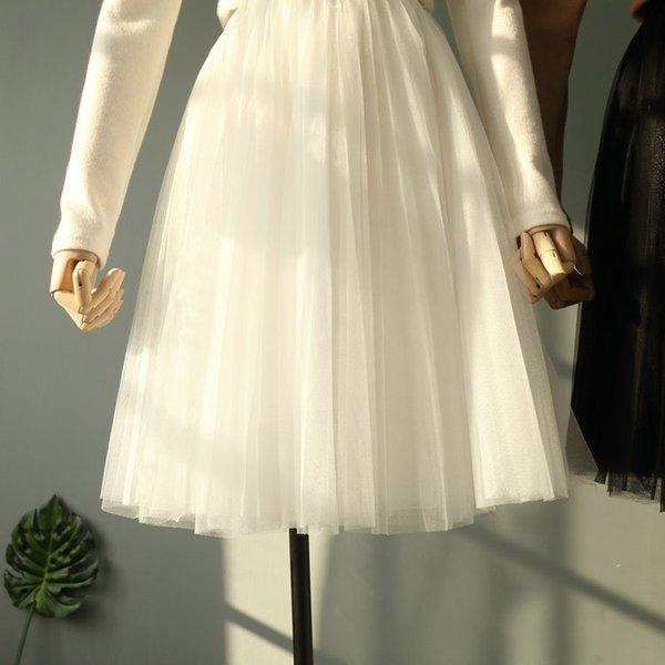 2018 yaz genç kız beyaz etek gri siyah 14-20 yaşında çocuk giyim elastik bel büyük kızlar tutu etekler