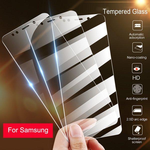 RDCY haute DefinitionTempered verre pour Galaxy A50 A40 A30 A70 A10 A20 A60 A80 A20E verre de protection pour M20 M10 M30 A30S