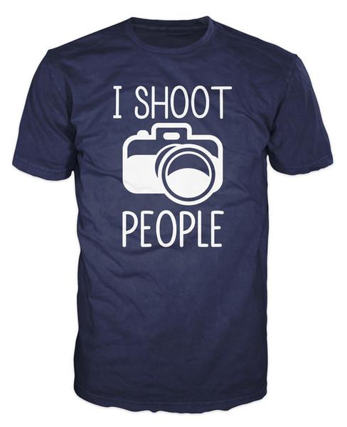 Ben Ateş Insanlar Komik Fotoğrafçı Kamera Sanatçı T-shirt Komik ücretsiz kargo Unisex Rahat tee hediye üst