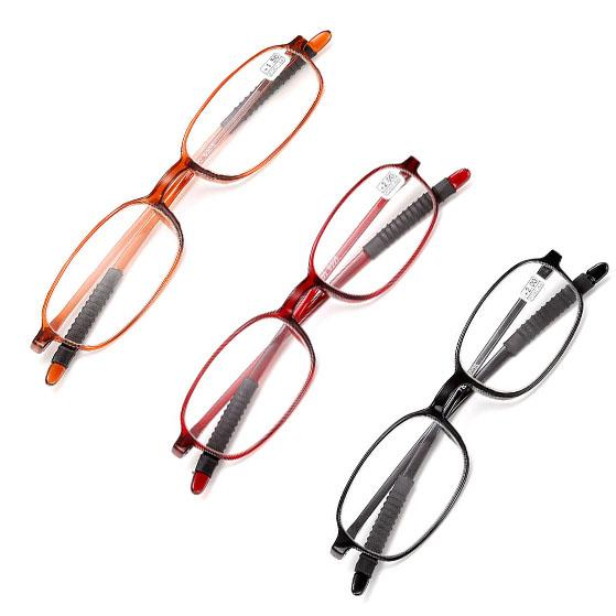 top popular Super Light TR90 Unisex Reading Glasses Presbyopic Glasses Magnifying Glasses +1.0 +1.5 +2.0 +2.5 +3.0 +3.5 +4.0 2021
