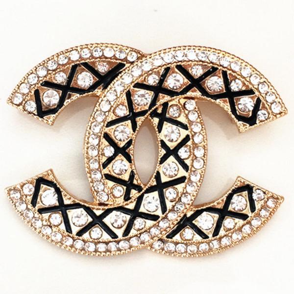 Kadınlar için Broşlar Yüksek Dereceli İnci Elmas Broş Parti Abartı Altın Gümüş Iğneler Takı 11 Stilleri Promosyon