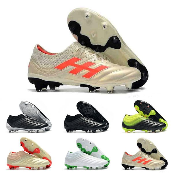 Wholesale Discount Soccer Cleats High Quality Copa 19.1 FG AG Football Shoes Cheap Outdoor Copa 19+ FG Soccer Cleats Big Order Fast Delivery