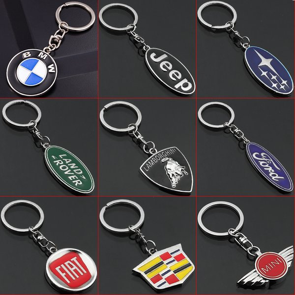 NEW Volkswagen Car logo Key Ring STAINLESS CAR LOGO FOB KEY RING KEY CHAIN 3D