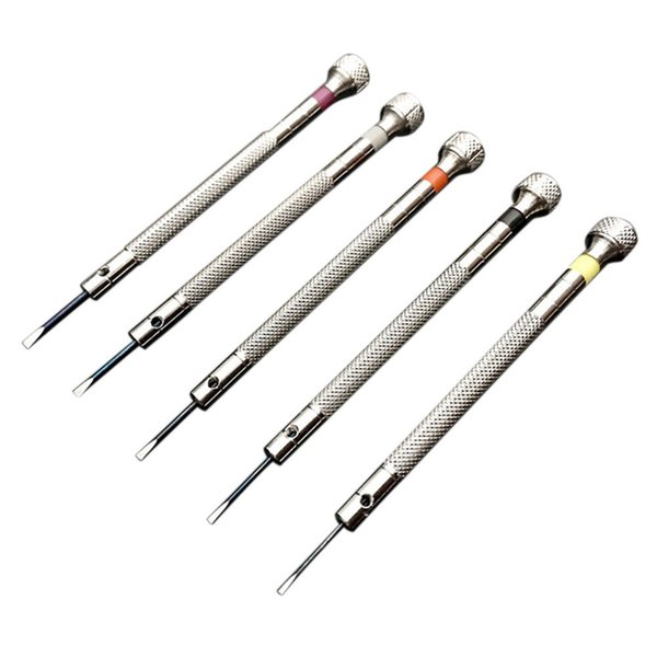 Practical Screwdriver Repair Kit Watch 5PCS/Set Fix Open Watchmaker Jewelry Alloy Steel Useful Eyeglasses Tool