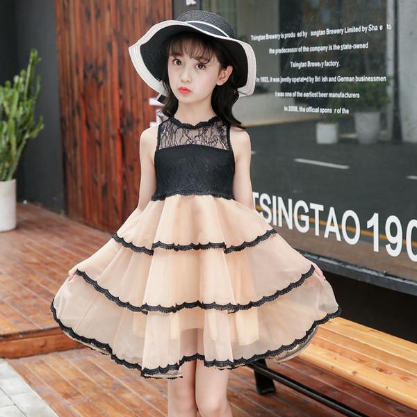 Baby Black Dress For Girl Carnival Girl Dresses Kids Costume Children Wedding Dress Little Princess Birthday Party Wear Vestidos