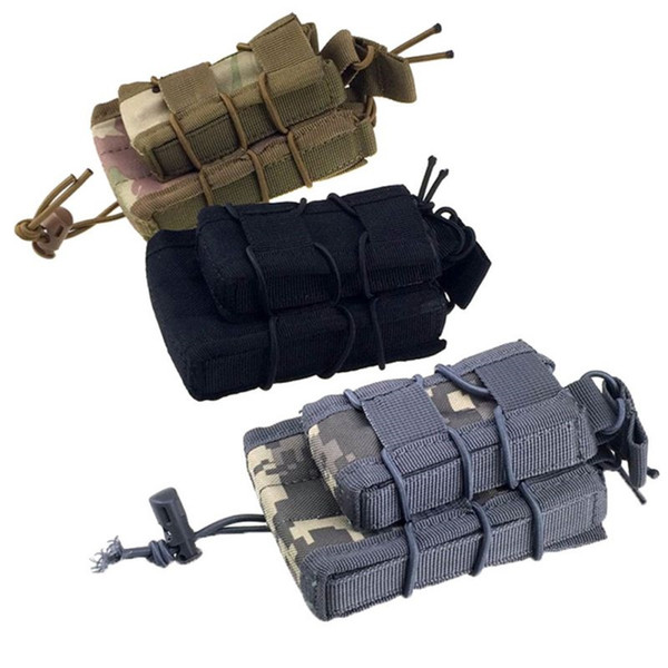Tactical Pouch Outdoor Double Magazine Mag Pouch High Quality Military Gear Hunting Bag Accessory #848008