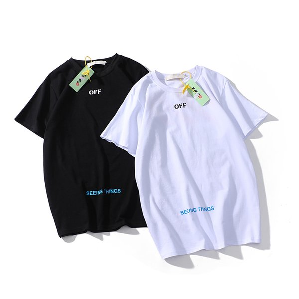 Лето высокое качество черный хлопок футболка с коротким рукавом мужская женская портрет шаблон мода футболка унисекс от стены