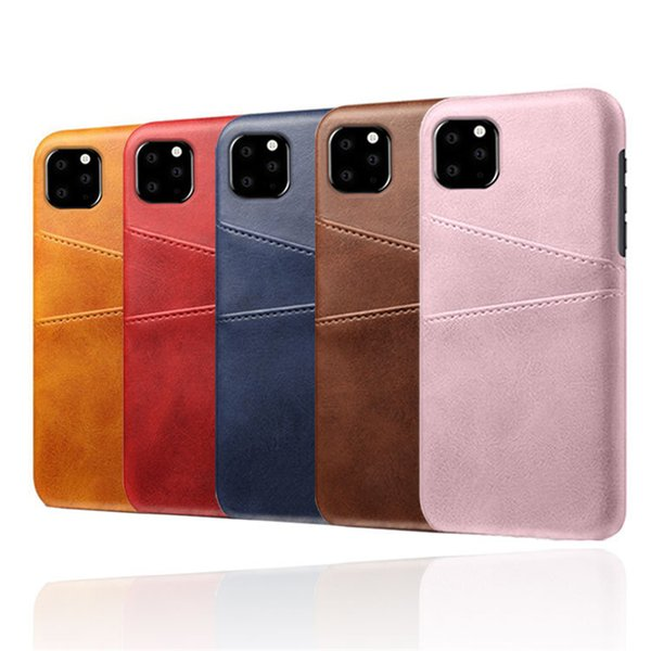 Cell Phone Card Holder >> New Arrival Phone Card Holder Crashproof Back Cover Leather Cell Phone Cases Protective Covers For Iphone 11 Pro X Xr Xs Max 6 6s 7 8 Plus Waterproof