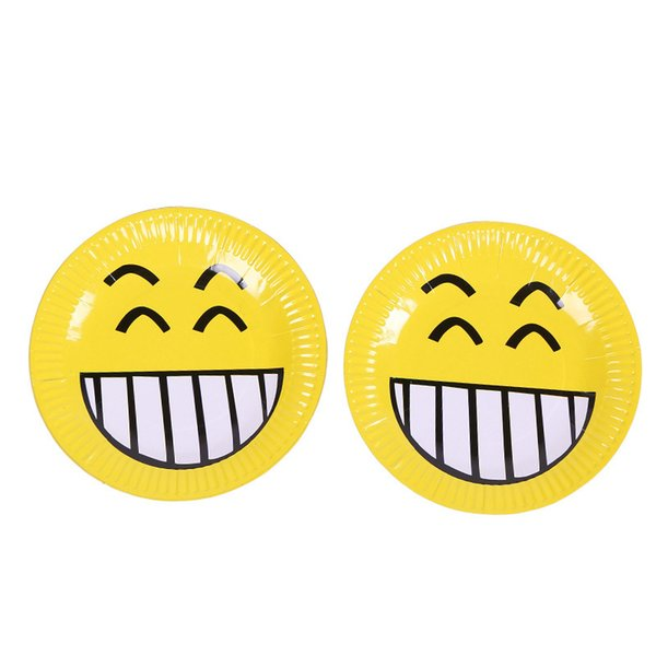 2019 Emoji Theme Paper Plates Birthday Wedding Party Supplies Decoration  Cake Dish Disposable Baby Shower Favors From Shutie, $35 75 | DHgate Com