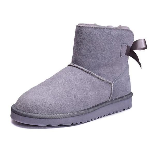 Botas de tornozelo cinza