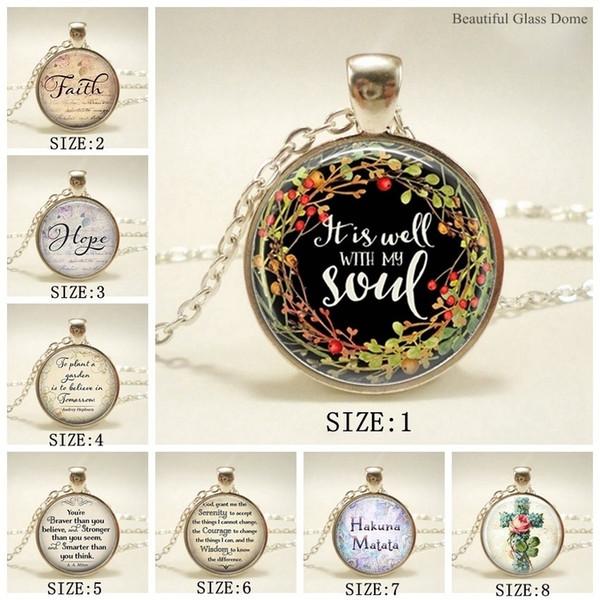 New It with My Soul Glass Cabochão Colar, Rose Cross Jóias Religiosas, Alfabeto Bíblia Pingente, Christian Poesia Acessórios de vestuário, Sw