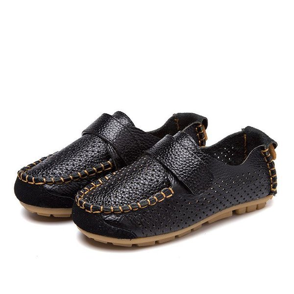 children flat loafers moccasin shoes