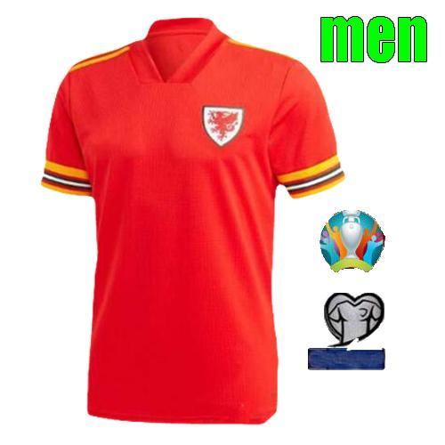 2020 Home men shirt+patch