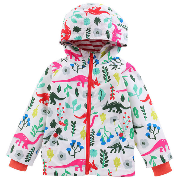 Casual Windbreaker Girls Jackets New Girls Boys Coat European Style Spring Autumn Jakets Children Clothes Fashion Kids Clothing