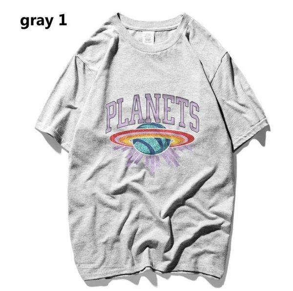 hommes t-shirt d'été 2019 nouveau t-shirt casual littéraire hommes femmes quelques tendance lâche tops tee imprimé avec motif chemises à manches courtes style 11