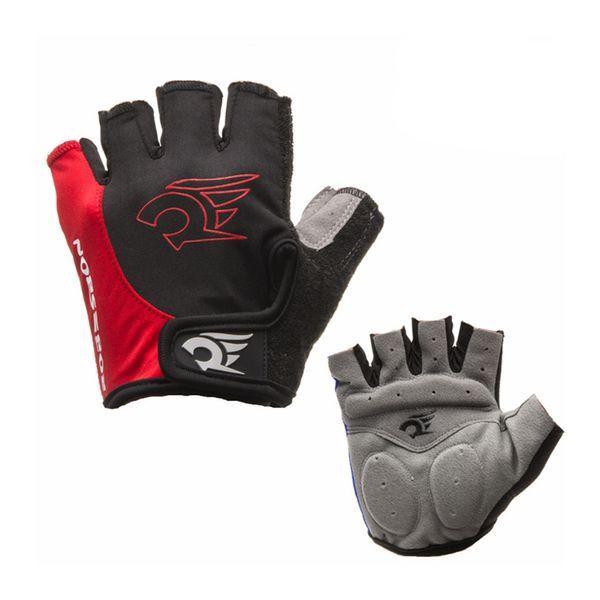 Cycling Gloves Half Finger Gel Mens Women's Sports Shockproof Anti-slip Mitten With EVA Pad Mountain Bike Gloves
