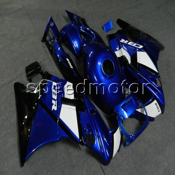 23colors+Screws blue motorcycle cowl Fairing for HONDA CBR600 F2 1991 1992 1993 1994 600F2 91 92 93 94 ABS motor panels