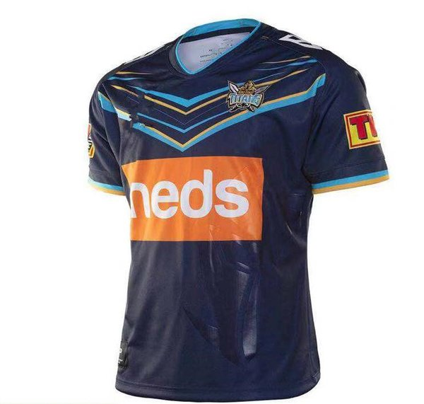 New Titans Uniforms 2020.2019 2019 2020 Titans Rugby Jersey 2019 Gold Coast Titans Home Jersey 2019 Gold Coast Titans League Gold Coast Titan Rugby Jersey Size S 3xl From