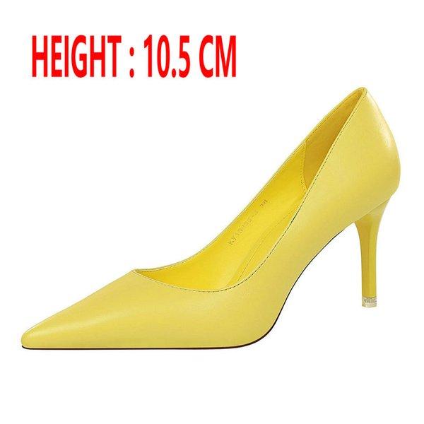 Talón amarillo 10,5 CM