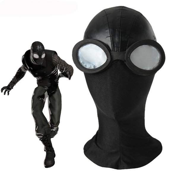 Spider-man black Mask Cosplay Accessories Halloween Spider-Man Noir Mask Cosplay Spider Man hat black mask