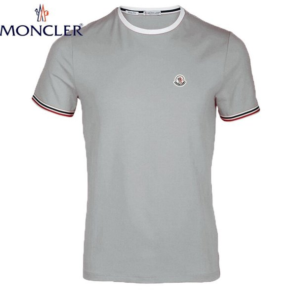 2019 nova Marca Roupa Homens T-shirt Ganhos T-shirt dos homens 100% algodão impressão camisa T homens Homme aptidão Camisetas Hip Hop tshirt de alta qualidade