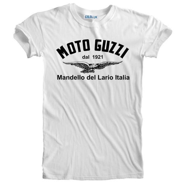 Moto Guzzi T-Shirt Long Sleeve S-5XL Choose Color