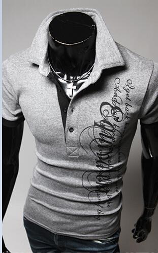 Été Designer Marques Tendance Hommes Polos Nouveau court -Sleeved Polo, Men « s Casual respirante Solide Couleur Hombre Camisa drôle Polos