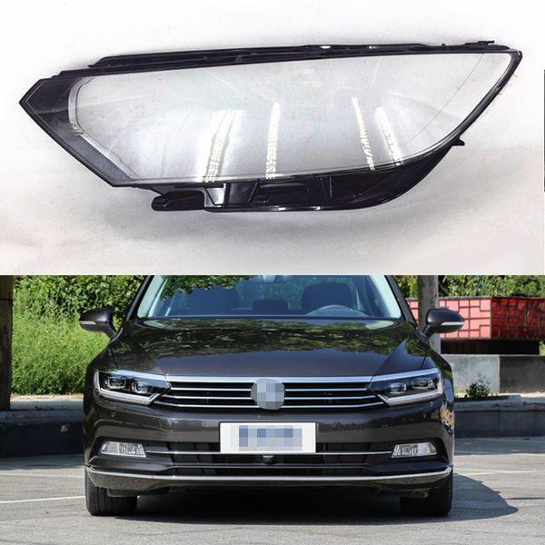 For Volkswagen VW Magotan / Passat B8 2016 2017 2018 Transparent Car Headlight Headlamp Clear Lens Auto Shell Cover