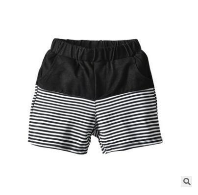 Kinder Gestreifte Shorts 2019 Sommer Kinder Baumwolle Casual Shorts Für Jungen Marke Shorts Höschen Strand Kurze Sporthosen Babykleidung 110-150