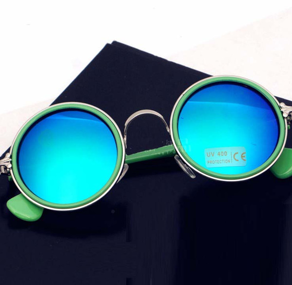 Estilo vintage Bebé Niñas Gafas de sol Moda Niños Niños UV Gafas protectoras para niños anti ultravioleta gafas al aire libre Y2064