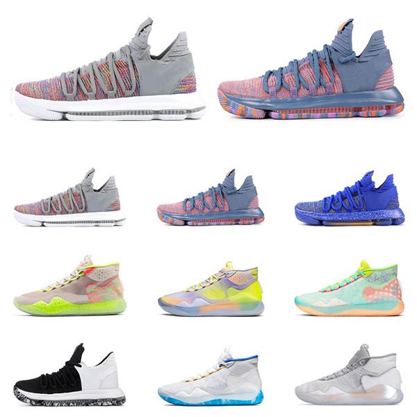 Nike KD 10 University Red para niños. | Zapatillas basquet