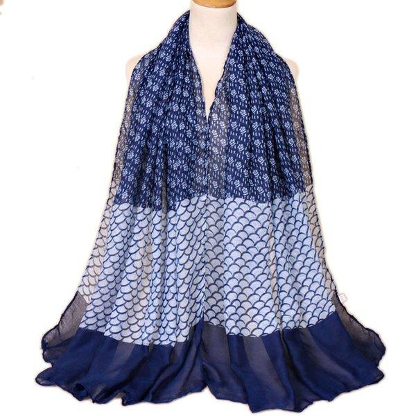 2019 Nouveau Design Femal Imprimé Floral Châles Wrap Long Écharpe Pour Les Femmes Musulman Hijab Foulard Femme Hiver Cape Bandana